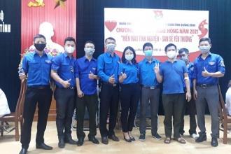 """Đoàn cơ sở VQG Phong Nha – Kẻ Bàng tham gia chương trình kỳ nghỉ hồng năm 2021 - """"Hiến máu tình nguyện, san sẻ yêu thương"""""""